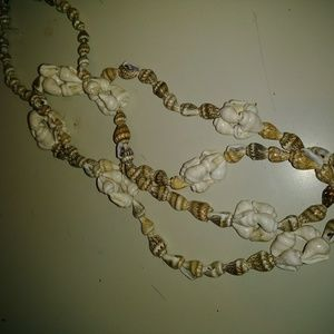 Jewelry - Hand made seashell infinity necklace
